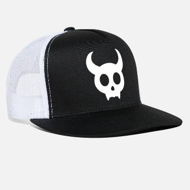 Horns Skull with horns - Trucker Cap