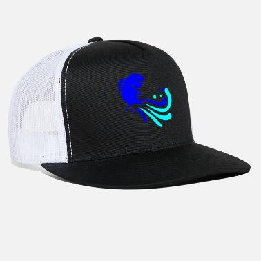 Jumping fish jump jump - Trucker Cap