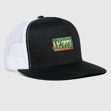 Ski Resort Ski - Trucker Cap