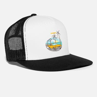 Coast Coast To Coast - Trucker Cap