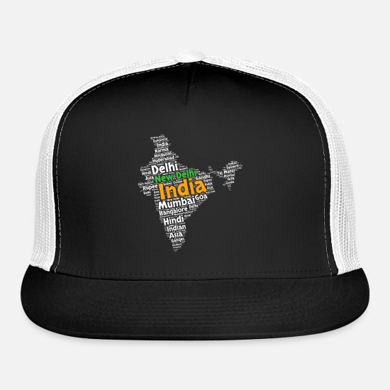 Hindi Caps - India - Trucker Cap black/white