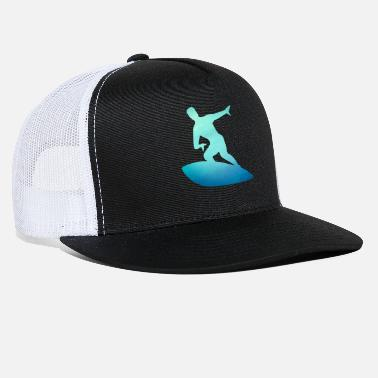 California Surfer Gift - Surf the Waves - Surfing Nation - Trucker Cap