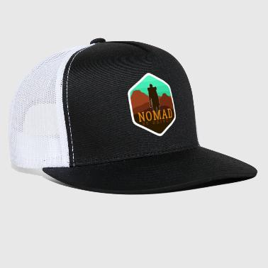 Wanderlust Nomad By Nature - Trucker Cap