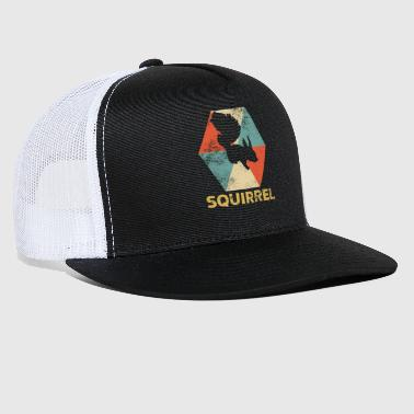 Vintage Polygon Squirrel - Trucker Cap