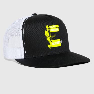 Guitarist - Freaking Awesome Guitarist - Trucker Cap