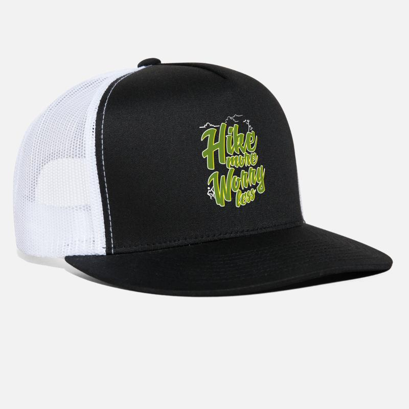 Gift Idea Caps - Hiking - Trucker Cap black white 2323b7a8c9d