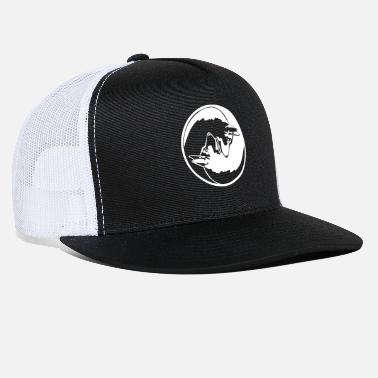 Yin Yang German Shepherd - Trucker Cap
