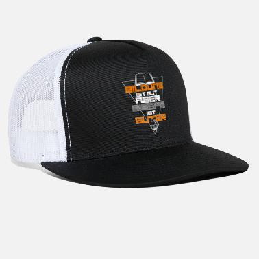 Education Culture Education and Biceps - Trucker Cap