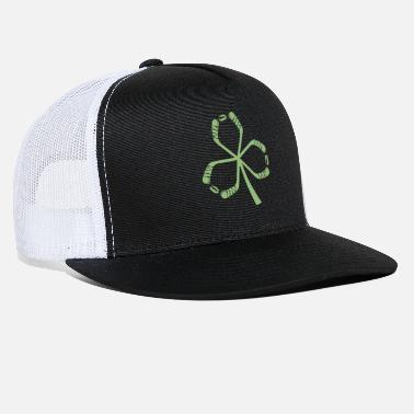 Shamrock Hockey Shamrock Irish Sports St Patty - Trucker Cap