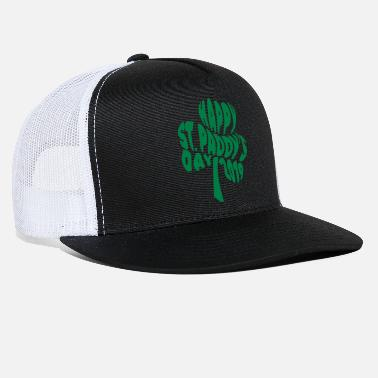 St Patricks Day 2019 Happy Paddys Day 2019 Happy St Paddys Day 2019 Typography - Trucker Cap
