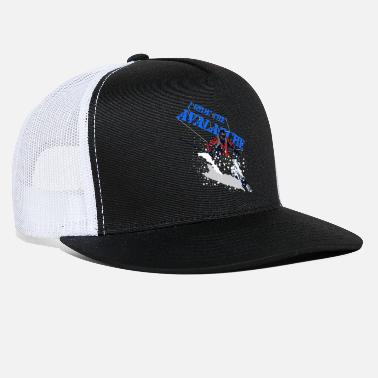 Recreational Athletes Skiing Ride The Athletic Stance - Trucker Cap