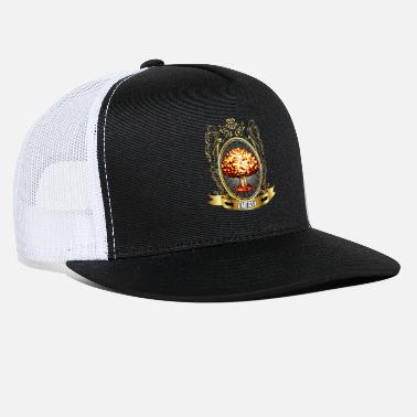 Atomic Energy Atomic explosion - mushroom cloud - atomic energy - Trucker Cap