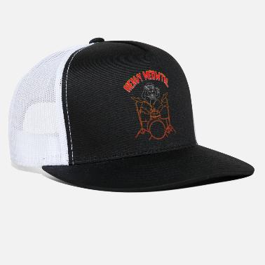Heavy Metal Heavy Metal Meow - Trucker Cap