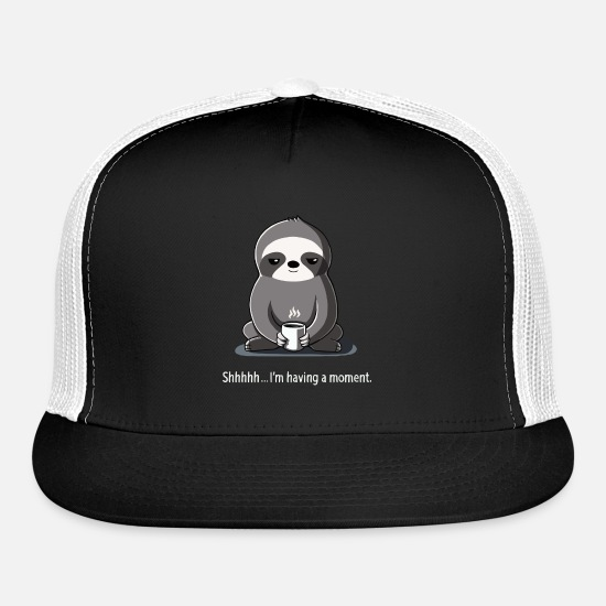 Movie Caps - Slow Morning - Trucker Cap black/white