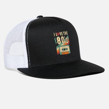 80s Clothing 80s Shirt I Love The 80s - Clothes Women and Men - Trucker Cap
