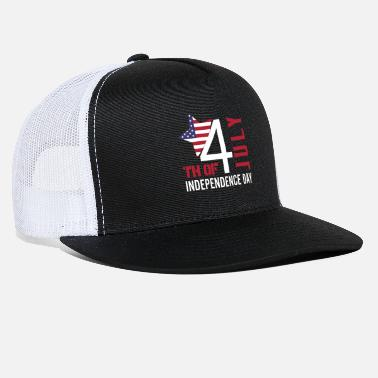 4 Th July independence day 4 th July - Trucker Cap