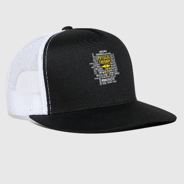 Physiotherapy Physical Therapy - Cool Physical Therapist Design - Trucker Cap