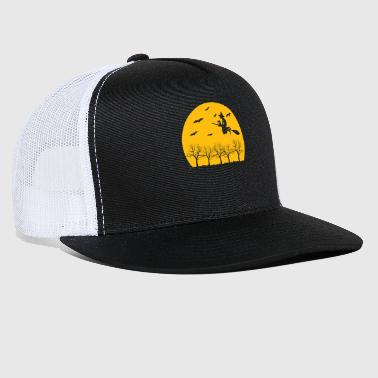 Witch ride broom - Trucker Cap