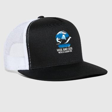 Bigfoot Jetskiing With Lohcness Monster And Ufo - Trucker Cap