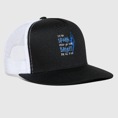 Spark Dance Student Let The Spark for dark - Trucker Cap