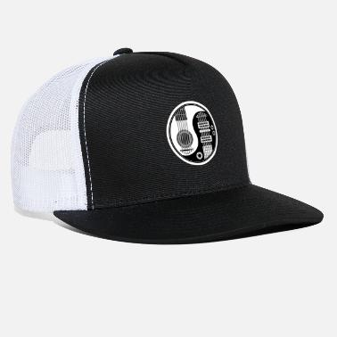Bass Guitar Yin and Yang Guitar Bass - Trucker Cap