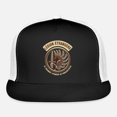 19e5aad242118 Foreign Legion Le gion Etrange re French Special 2 Trucker Cap ...