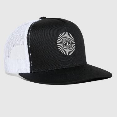Templar All Seeing Eye Illuminati - Trucker Cap
