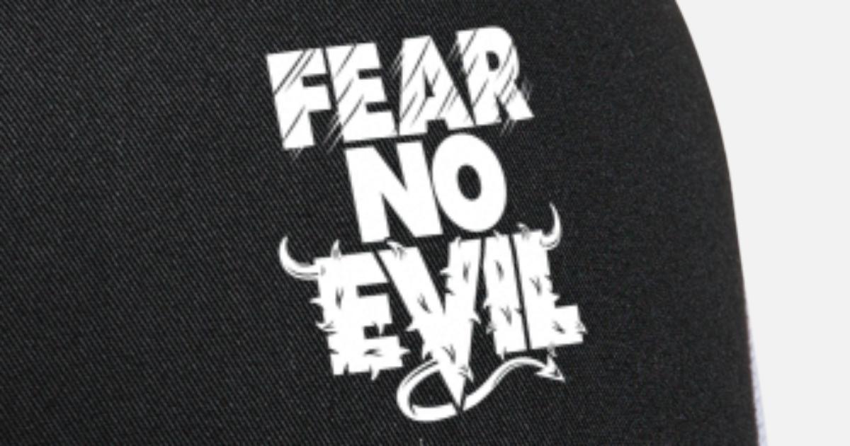02a7fcd7662 Fear No Evil White