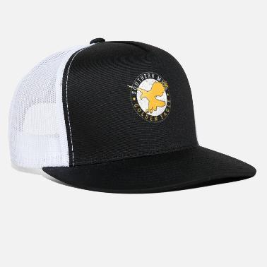 Miss Southern Miss Golden Eagle Gift - Trucker Cap