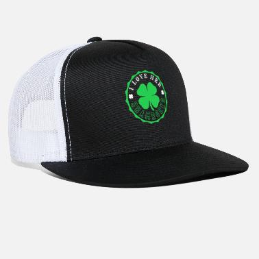 Stylish Love Shamrocks Stylish Cool Gift Luck - Trucker Cap