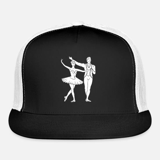 Dancing Caps - Dance Sports - Trucker Cap black/white