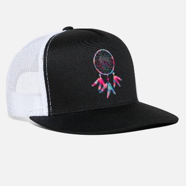 American Indian dreamcatcher indian tribe native american lucid - Trucker Cap