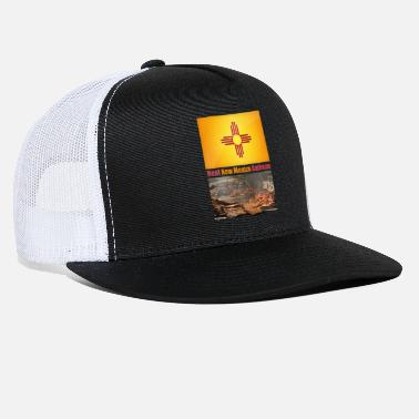 Mexico Real New Mexico Barbecue - Trucker Cap