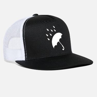 Rain Rainy Weather - Trucker Cap