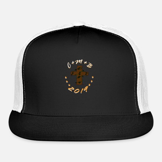 Pope Caps - Jesus, Church, Heiligen, Kings, 2019, Christus - Trucker Cap black/white