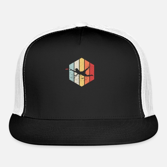 Game Caps - Ultimate TShirt I Gift Disc Sport Jersey - Trucker Cap black/white