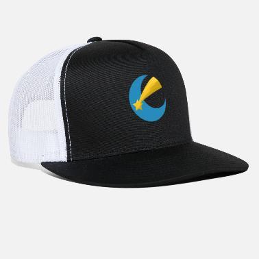86106f4ee13 Star Sky Clouds Night Moonlight Chill Gift Idea - Trucker Cap