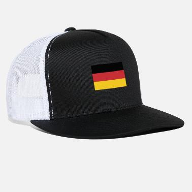 Flag Of Germany German flag, flag of Germany, Deutschlandflagge - Trucker Cap