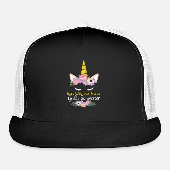 Gift Idea Caps - Sister - Trucker Cap black/white