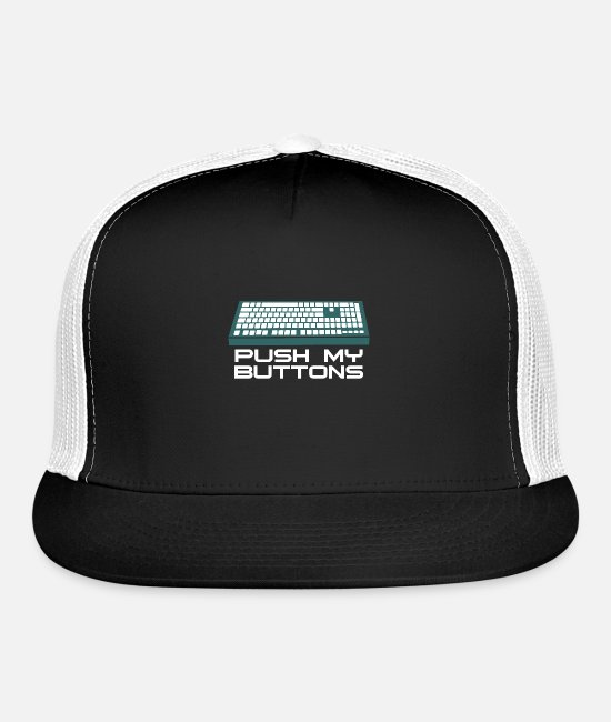 Computer Science Caps - computer science computer scientiest - Trucker Cap black/white