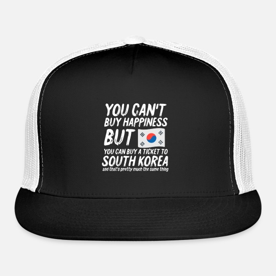 South Caps - South Korea - Trucker Cap black/white