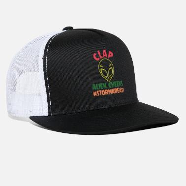 Clap Alien Cheek Clap Alien Cheeks #Stormarea51 - Trucker Cap