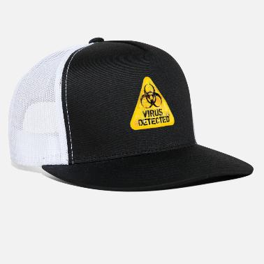 Virus Virus Detected - Trucker Cap