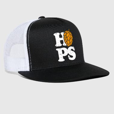Hop Beer Hops - Trucker Cap