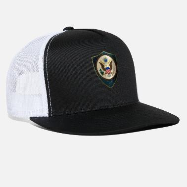 Coat Of Arms Usa USA Coat of Arms - Trucker Cap