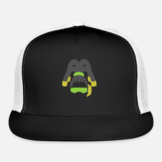 Lucio Caps - Lucio - Trucker Cap black/white