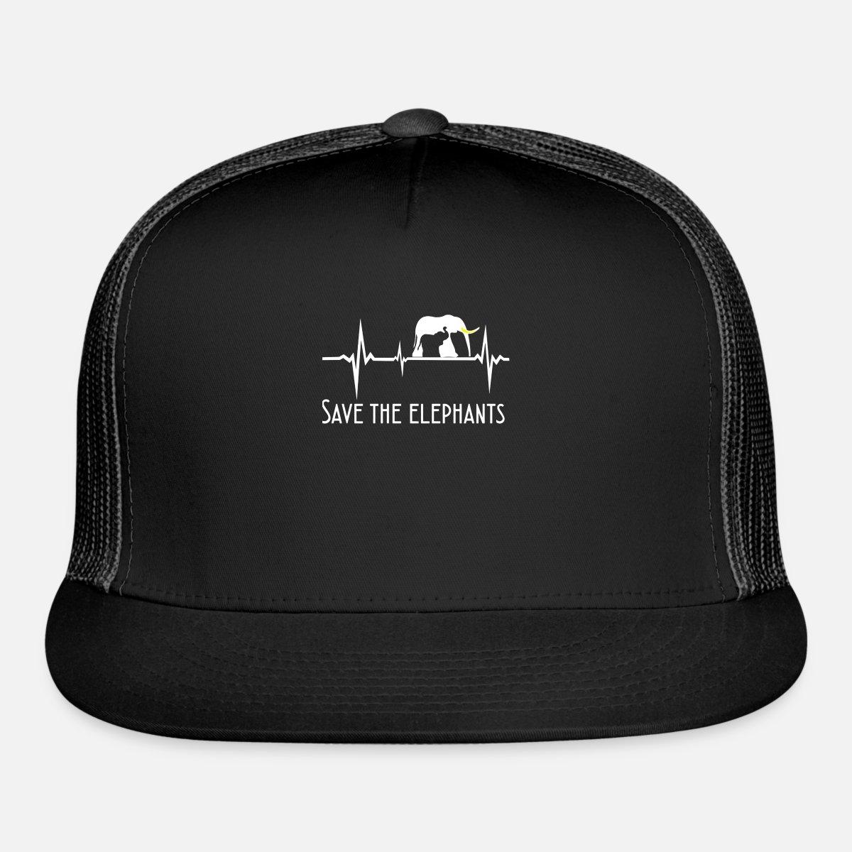 cf47f681c Autism Awareness Elephant T Shirt Autism Awareness Trucker Cap - black/black