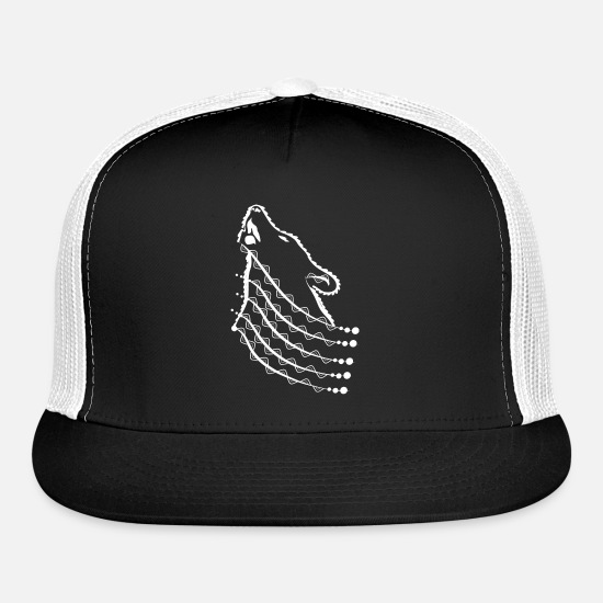 9373b31ae Wolf Luxury Fashion Psychedelic Fashion Gift Trucker Cap   Spreadshirt
