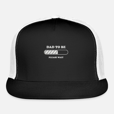 11b14cd40806c Dad to be Loading Trucker Cap