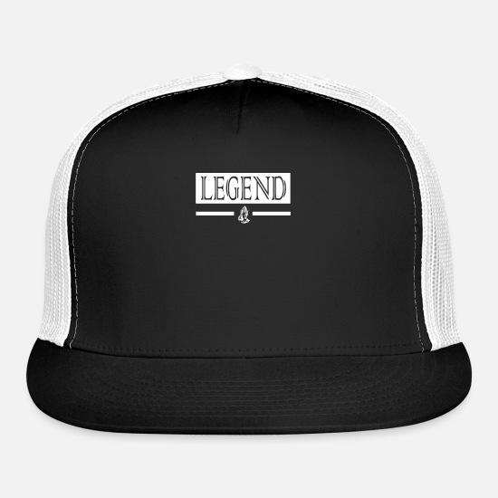 Legend Caps - Legend - Trucker Cap black/white